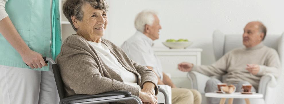 Vous visitez une maison de retraite pour la première fois?