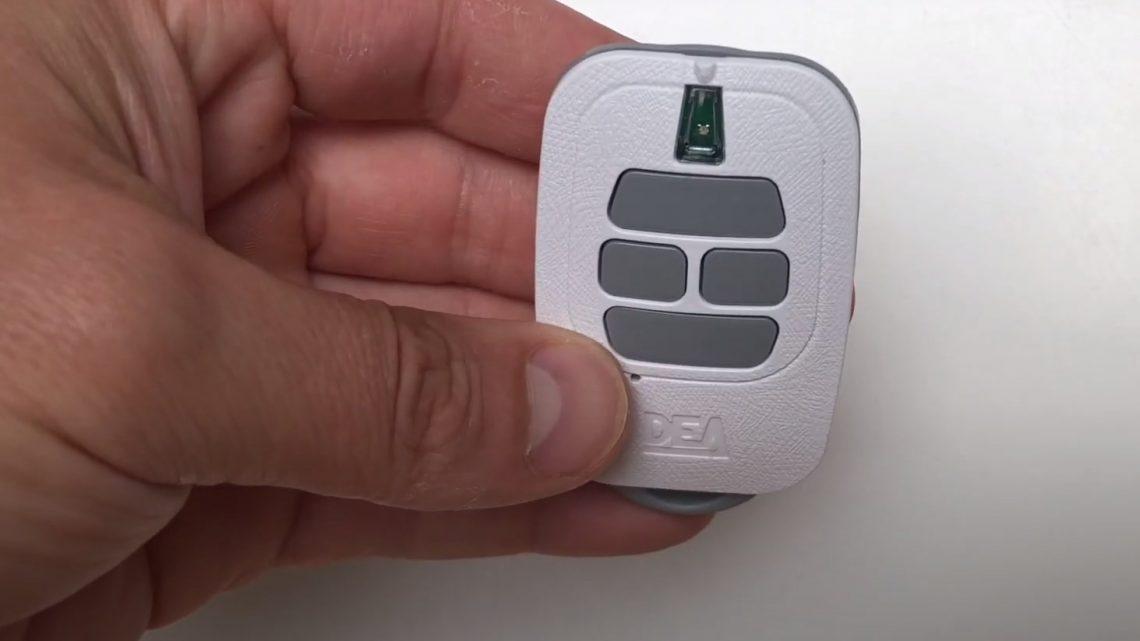 La télécommande DEA GT4: un émetteur aux nombreux avantages